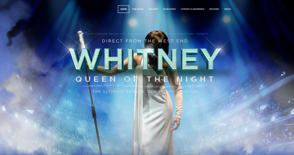 Queen of the Night Website Project